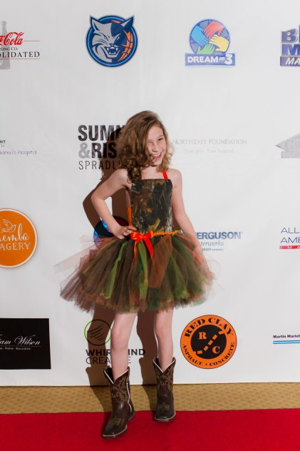 Dream Kid Angel at our Inaugural Dream Gala Photo by Themba Imagery
