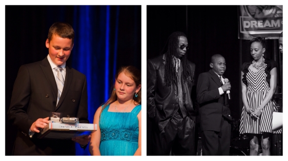 Dream Kids at our Inaugural Dream Gala. Photos by Themba Imagery